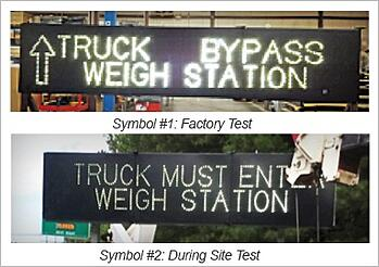 blank out signs dynamic message signs