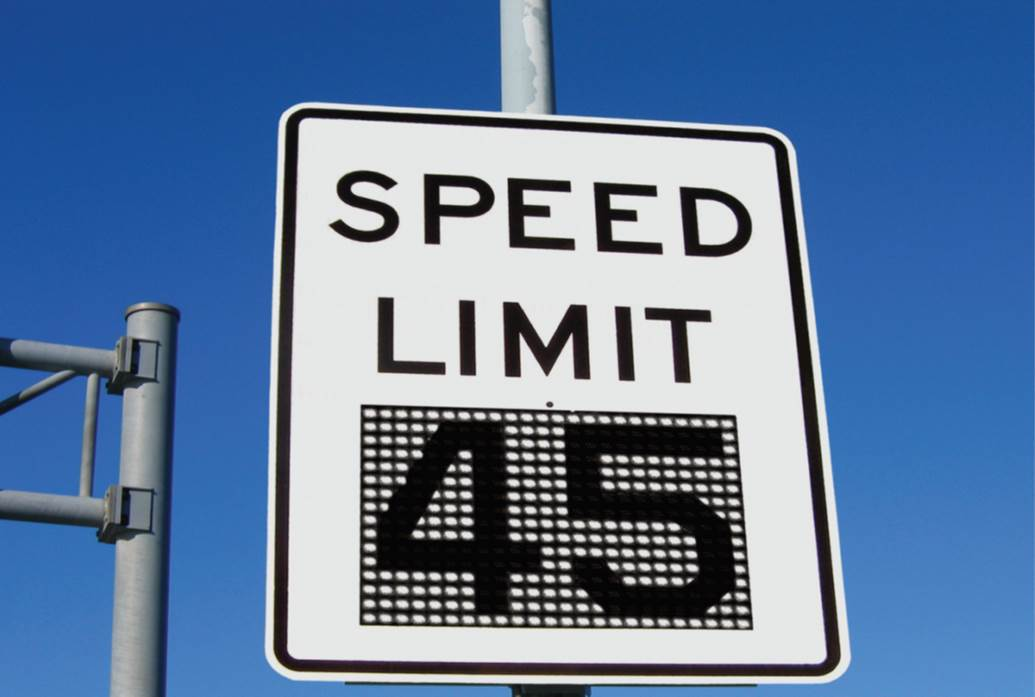 How to Define a Good Variable Speed Limit Sign